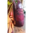 David-Jones-női-hátizsák-burgundi-oldalról-pakkoljhu