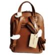 David Jones Női hátizsák - Párducmintás, barna