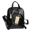 David Jones Női hátizsák - Párducmintás, fekete