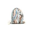 Női divat tornazsák  - Nonfiguratív, barna színvilágú