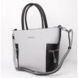 Női-shopper-táska-fekete-szürke-oldalról-pakkoljhu