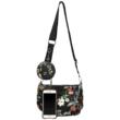 Virágos-fekete-crossbody-borítéktáska-pénztárca-egyben-mérete-telefonnal-pakkolj-hu