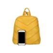 Női-hátizsák-sárga-színben-sávos-díszítéssel-hátulról-pakkolj-hu