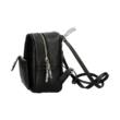 Mini-hátizsák-női-23-cm-fekete-bőrhatású-oldalról-pakkolj-hu