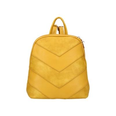 Női-divat-hátitáska-sárga-sávos-díszítés-pakkolj-hu